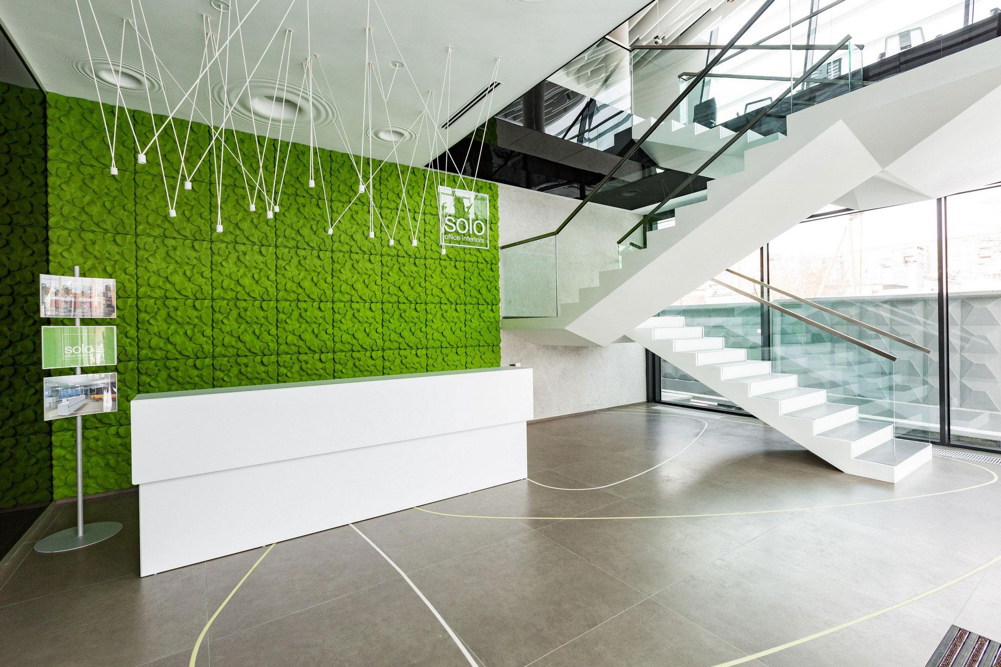 Новый проект для Solo Office Interiors