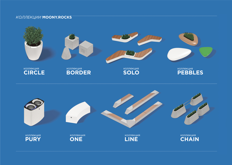 New MOONY.ROCKS product line!